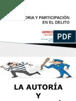 UIGV-DERECHO  PENAL II-LECCIÓN 09-AUTORIA Y PARTICIPACIÓN.pptx