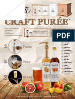 Amoretti Craft Puree Flyer