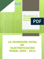 Mecanismos de Inversión y Financiamiento