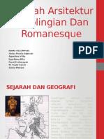 Sejarah Aritektur Carolingian Dan Romanesque