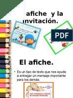 La Invitación y El Afiche