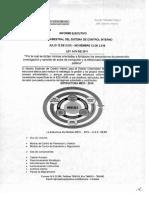 Informe Ejecutivo Cuatrimestral Sci 12 10 2016