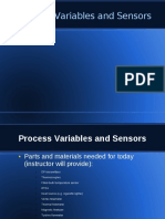 PTEC107 Process Variables Sensors