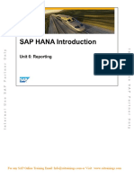 Sap Hana Ha100 Unit6 - Reporting(Sps5)