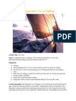 therapeutic use of sailing