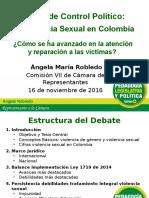 Presentación Debate Violencia Sexual Comisión VII 16-11-2016