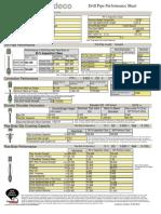 DrillPipe, 80%, 5.000 OD, 0.500 wall, IEU, S-135.. XT50 (6.625 X 3.750