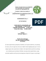 ley de Boyle Universidad Tecnologica de Panamá