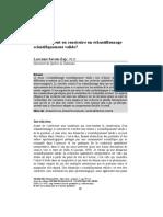 Savoie-Zajc - Comment peut-on construire un échantillonnage scientifiquement valide