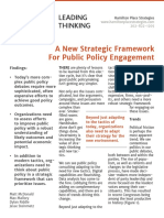 HPS Public Policy Strategic Framework
