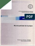 Informe Final Auditoría Municipalidad de Iquique