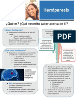 hemiparesis handout - spanish version