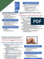 arthritis spanish handout