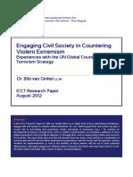 ICCT Van Ginkel Civil Society in CVE August 2012