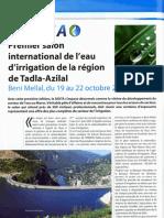 1er Salon International de l'Eau d'Irrigation