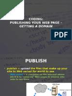 web - 2016 - s1 - wd - week 14 - publishing a webpage