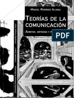 Teoria  de La Comunicación ambitos Metotodos y Perspectivas