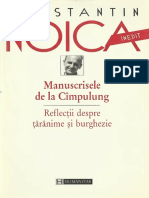 Constantin Noica - Manuscrisele de la Cîmpulung.pdf
