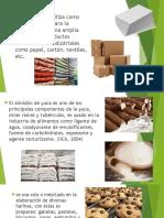 Usos y Aplicaciones Del Almidon de Yuca