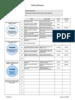 Drill Deep Root Cause Analysis Worksheet