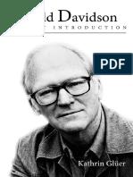 Kathrin Glüer - Donald Davidson. a Short Introduction