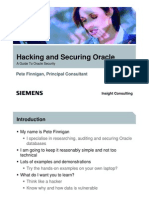 Hacking and Securing Oacle
