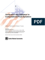 Verification and Validation in Computational Fluid Dynamics