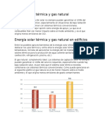 Energía Solar Térmica y Gas Natural en Edificios