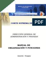 Manual Org y Func.-2010- Dpto. de Contabilidad