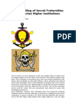 The Derailing of Secret Fraternities in Nigerian Higher Institutions_Scrbd