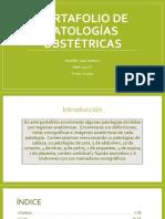 portafolio de patologias obstetricas
