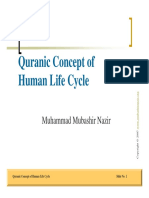 Quranic Concept of Human Life Cycle Muhammad Mubashir Nazir PDF Free Download