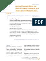 """Análise estrutural todoroviana do tecido narrativo confeccionado em """"Record"""", direção de Mess Santos, 2014"""
