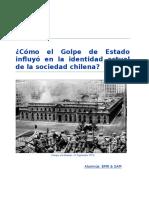 El Golpe de Estado en Chile 1973 y su influencia en los chilenos