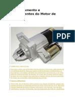 Funcionamento e Componentes Do Motor de Partida