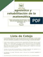 03.2016 Lista Cotejo, Test Dx