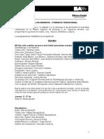 Programación San Martín en Los Barrios - Formato Tradicional
