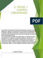 Control Difuso y Control Concentrado