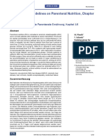Hepatology – Guidelines on Parenteral Nutrition