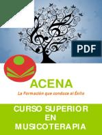 Curso Superior Musicoterapia