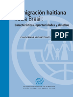 La Migracion Haitiana Hacia Brasil