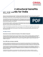 CRISIL Research_ Insight_Significant Structural Benefits on the Cards for India_9Nov2016