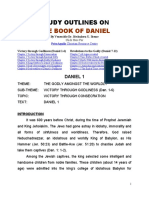 Study Outlines on The Book of Daniel