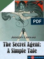 The Secret Agent - A Simple Tale, By Joseph Conrad