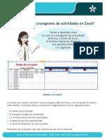 Cómo crear un cronograma de actividades en Excel.pdf