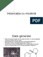 Intoxicatia Cu Nicotina