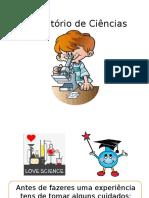 Regras_Laboratório de Ciências