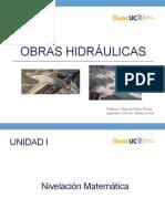 Clase 1 - OBH008V (L)- Unidad I Nivelación Mat