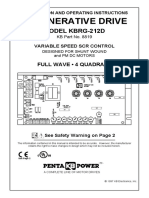 Kbrg 212d Thruhole Manual