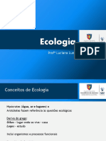 Slide de Ecologia